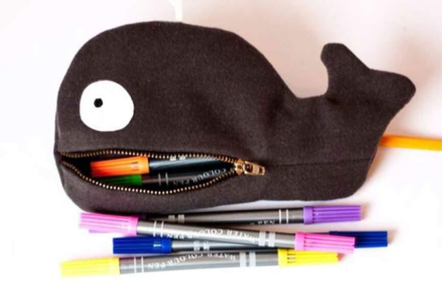 Une trousse baleine