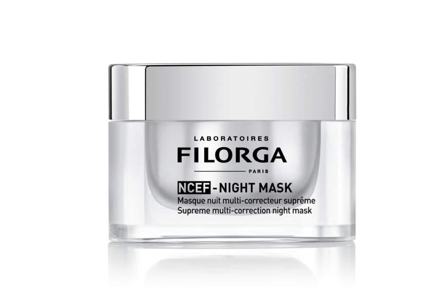 Le masque nuit multi-correcteur suprême NCEF Night Mask Filorga