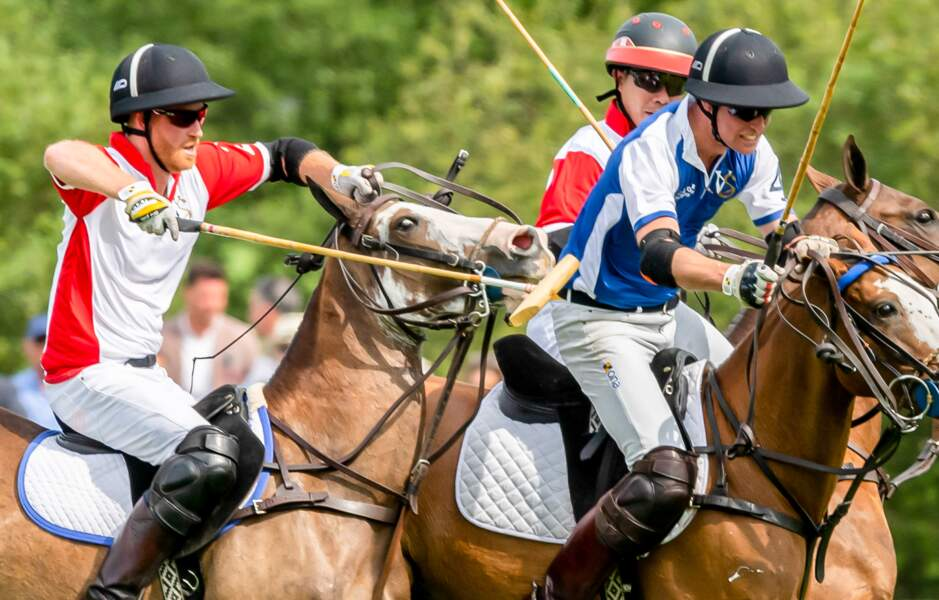Réunis autour de ce match de polo de bienfaisance King Power Royal Charity...