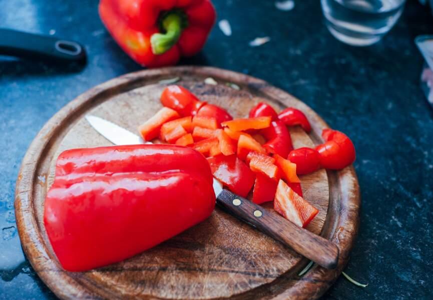 Aliment rouge : le poivron, bon pour les os