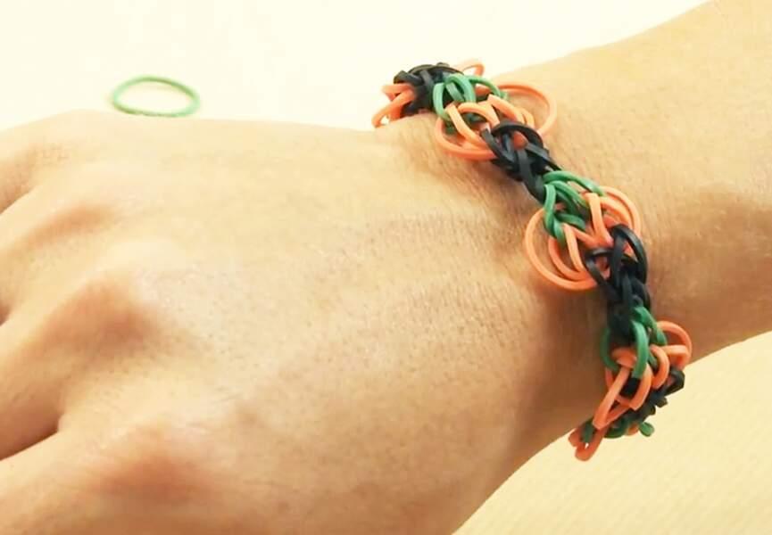 Un bracelet citrouille