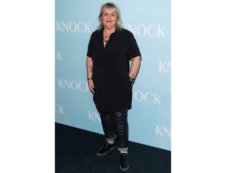"""Toujours en 2017, elle assiste à l'avant-première du film """"Knock"""""""