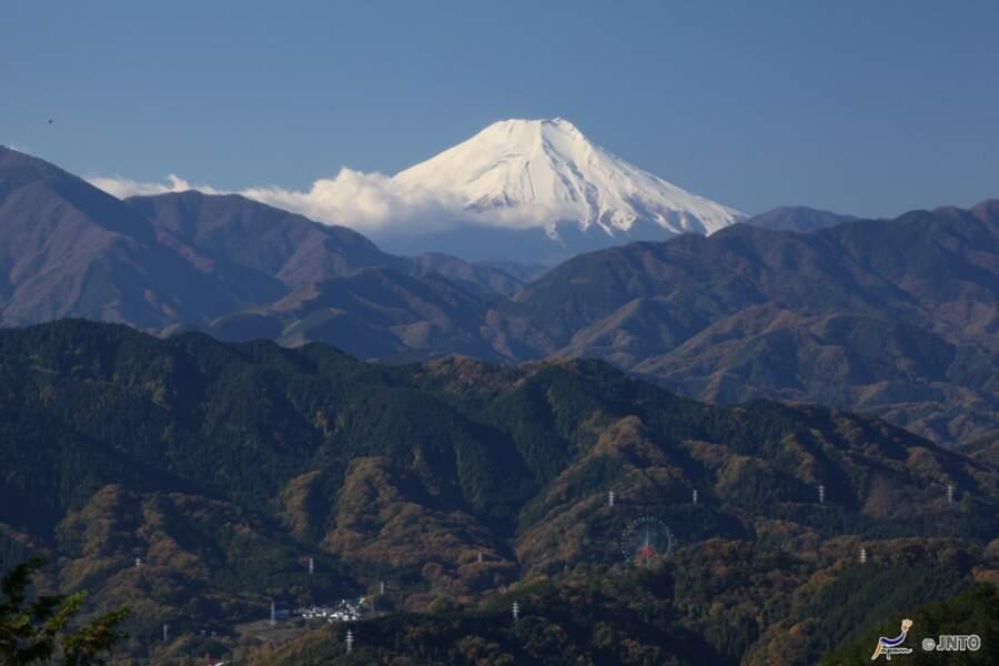 Vue du mont Fuji depuis le Mont Takao
