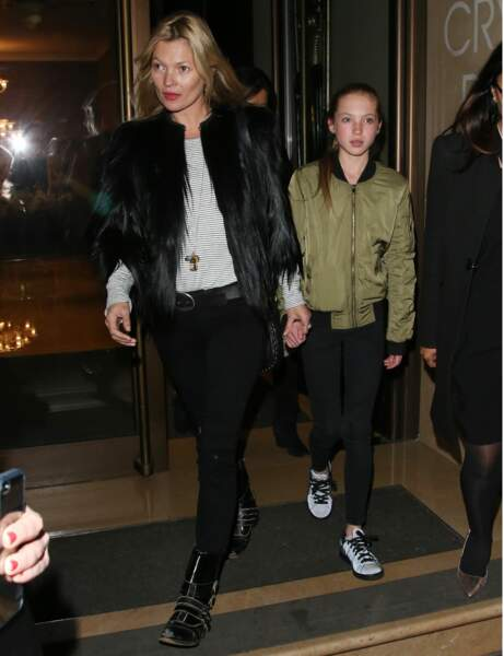 Kate Moss et Lila Grace : so british