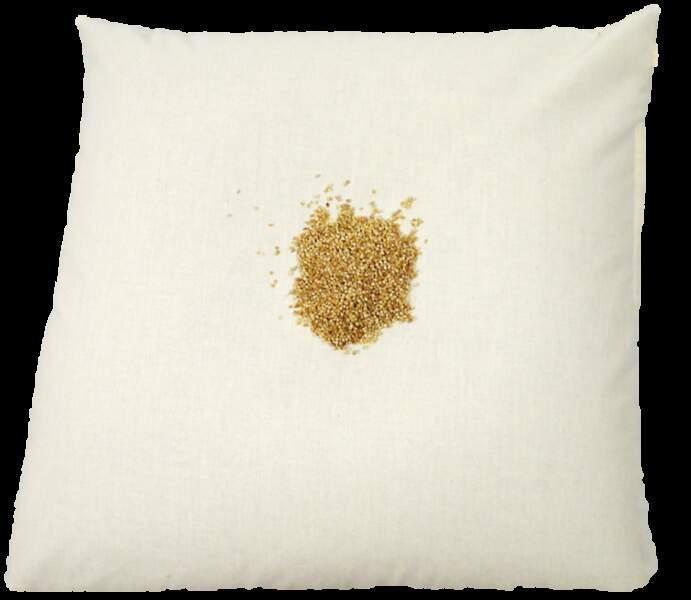 Samantha, 28 ans, a testé l'oreiller de millet bio de la Cocarde Verte