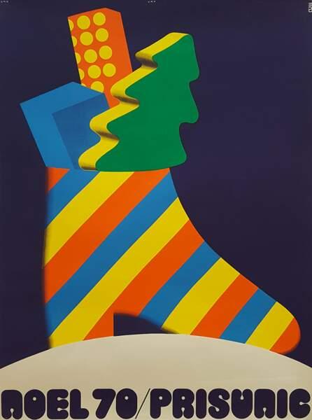 Affiche de Noël - 1970