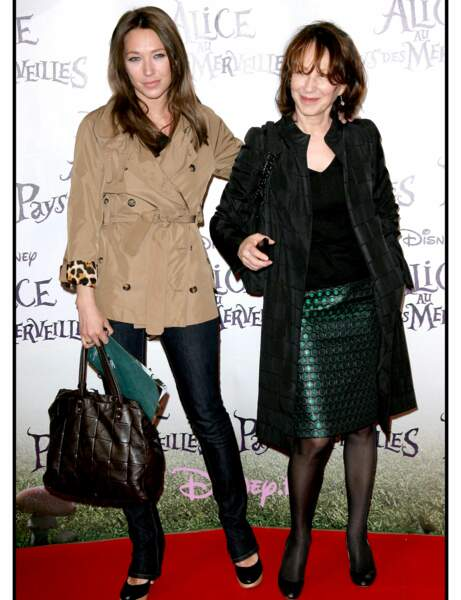 Nathalie Baye et Laura Smet : féminines