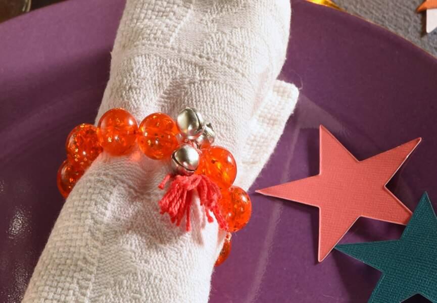 Le rond de serviette bracelet