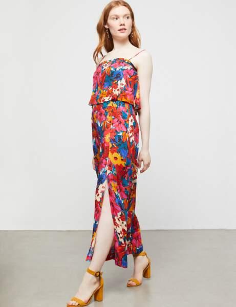 Robe d'été: patchwork