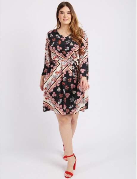 Tenue de cérémonie : la petite robe foulard