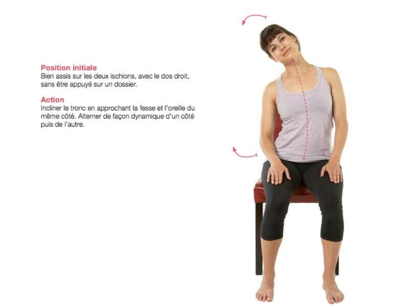 Des mouvements de droite à gauche pour stimuler les muscles latéraux
