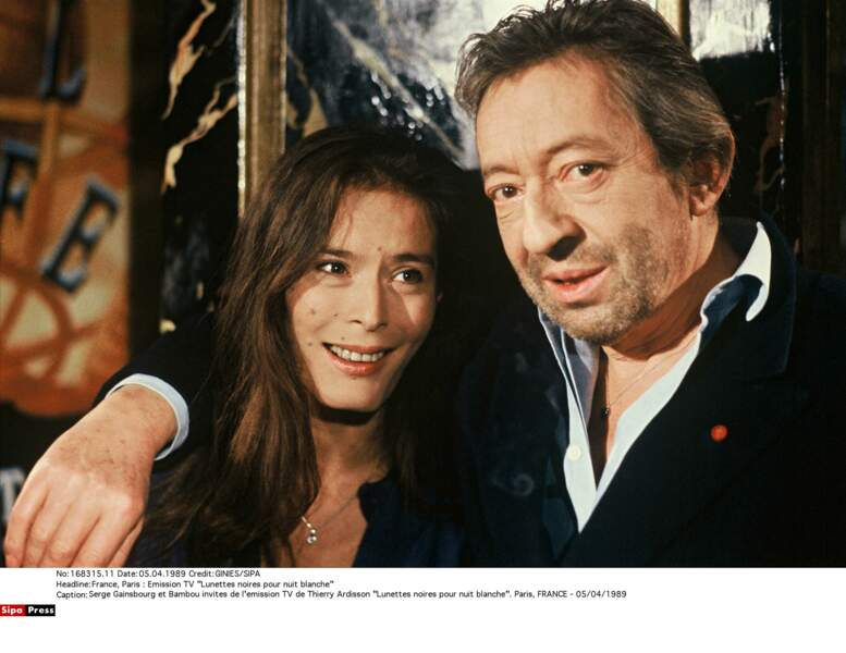 Serge Gainsbourg et Bambou