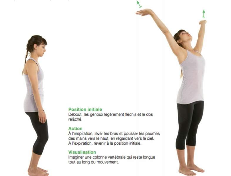 Se grandir pour allonger les muscles du dos