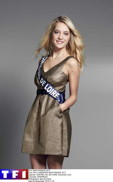 Miss Centre-Val de Loire - Cassandre Joris
