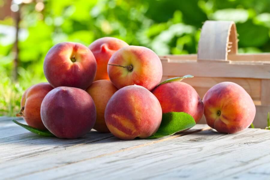Fruit minceur : la pêche 47 kcal pour 100g
