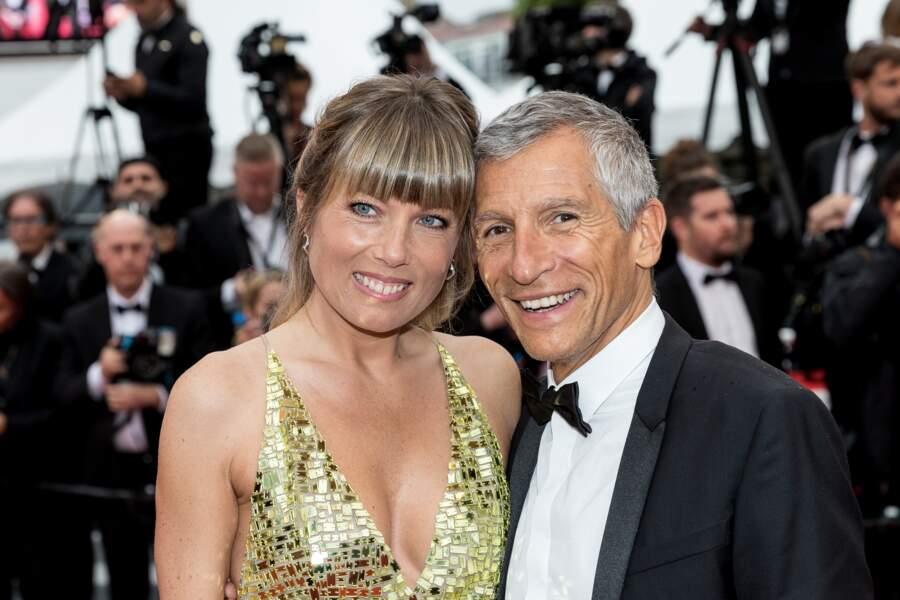 Nagui et son épouse Mélanie Page, complices sur le tapis rouge