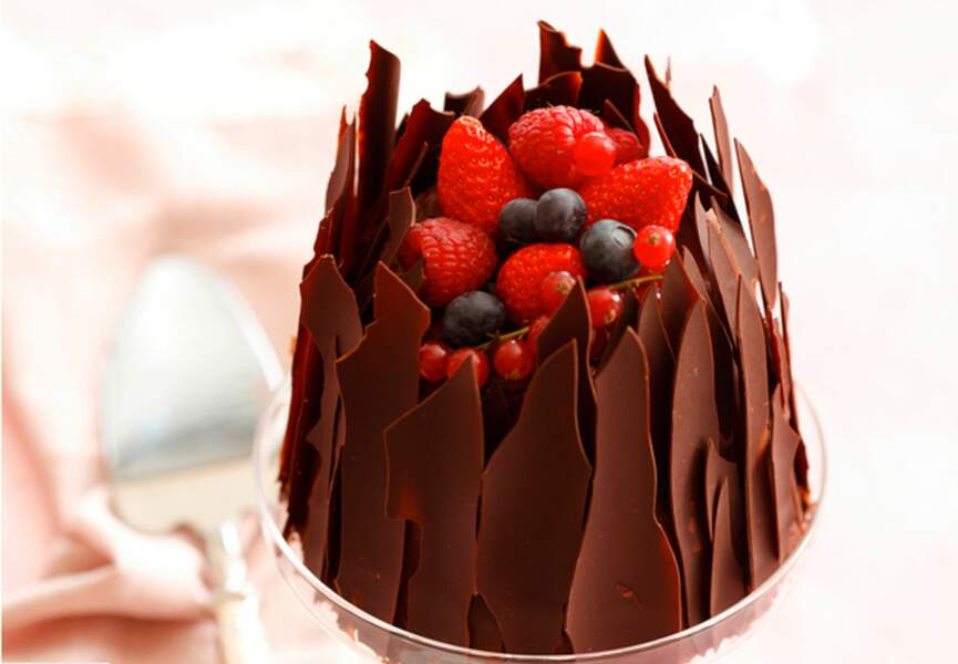 Charlotte chocolat-noisette