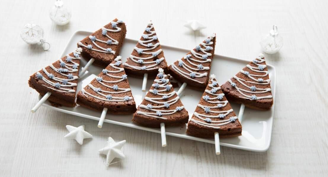 Petits sapins au chocolat avec le Cook Expert de Magimix