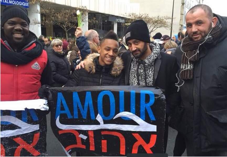 Cyril Hanouna a marché aussi auprès de ses amis