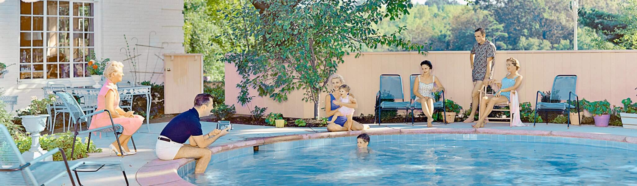 Family Swimming Pool, 1960