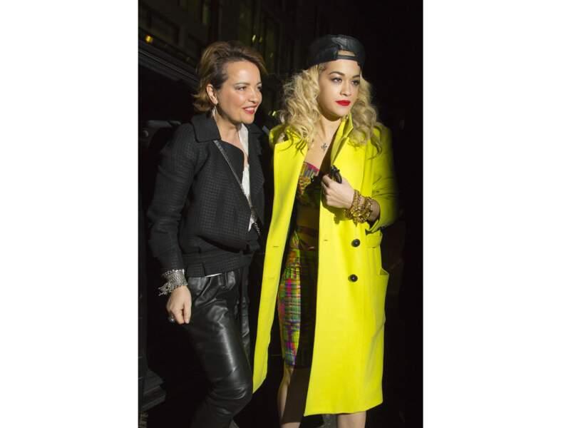 Le jaune citron comme Rita Ora