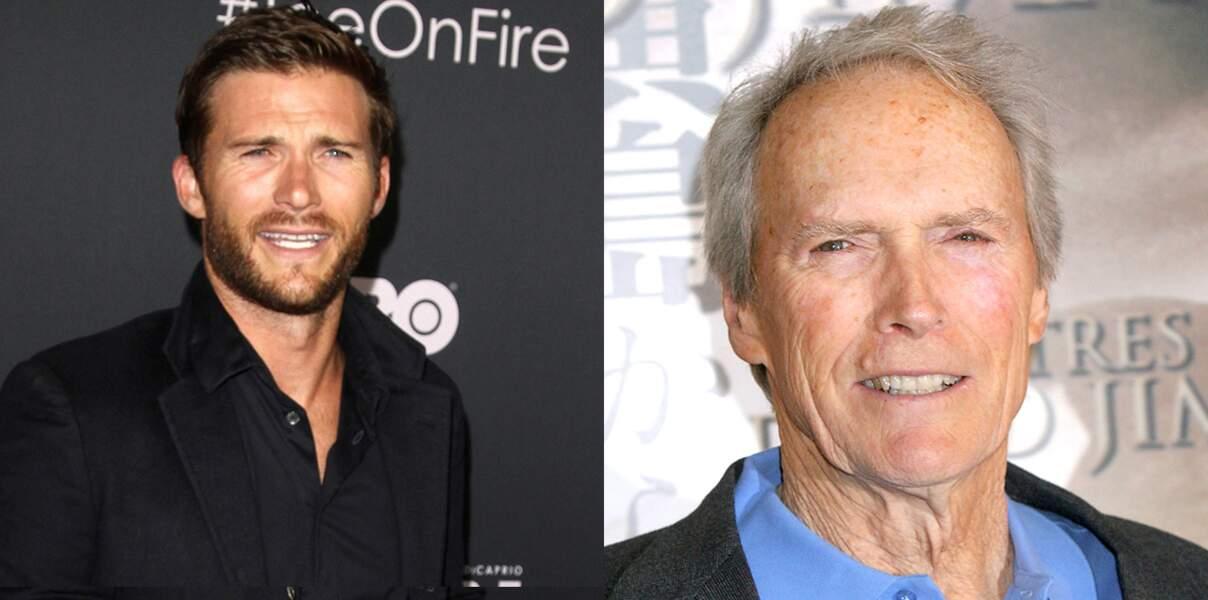 Scott et Clint Eastwood