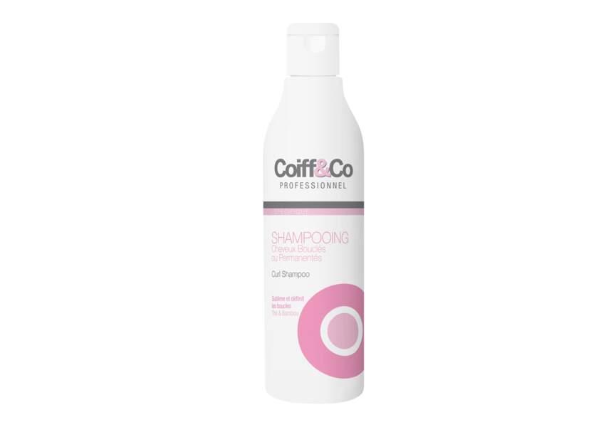 Le Shampooing cheveux bouclés Coiff & Co professionnel