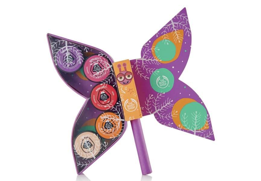 Le coffret Papillon Born Lippy The Body Shop
