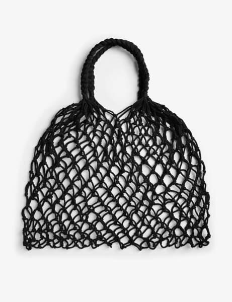 Tendance coquillages et crustacés : sac filet de pêche