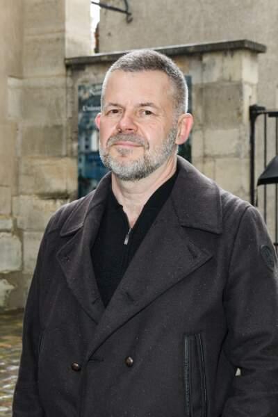 Eric Naulleau aux obsèques de Dick Rivers en l'église Saint-Pierre de Montmartre, à Paris, le 2 mai 2019.