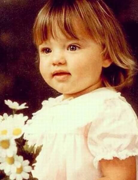 Ce beau bébé est aujourd'hui l'une des top modèles les plus en vue…