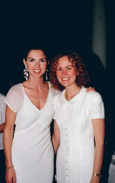 Laeticia et Caroline Barclay en Juillet 1997