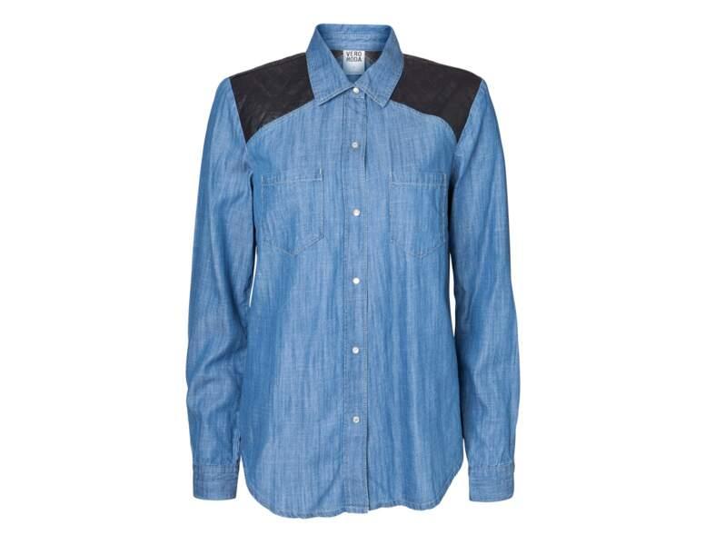 La chemise en denim