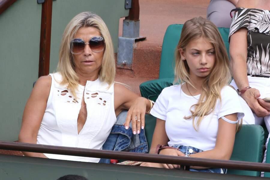 Stella Belmondo et sa mère Natty Tardivel