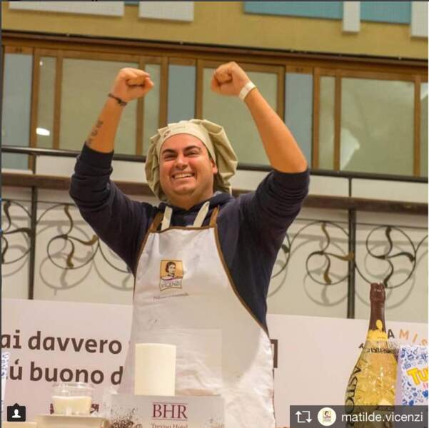 Le vainqueur 2017 : Andrea Ciccolella
