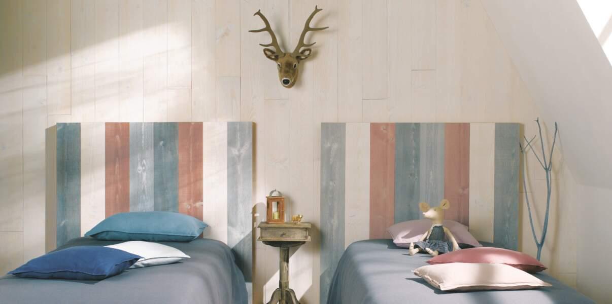 Des têtes de lit multicolores
