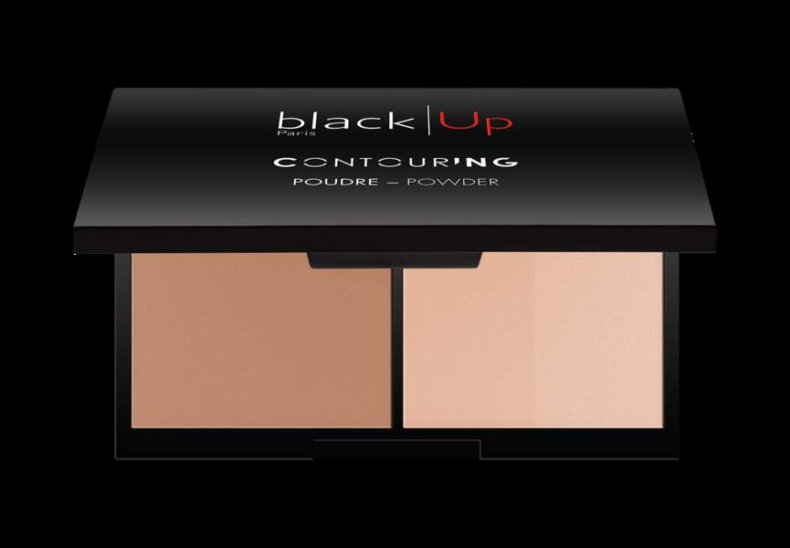 La palette contouring black Up