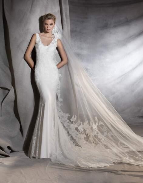 Robe de mariée Pronovias : Oriana