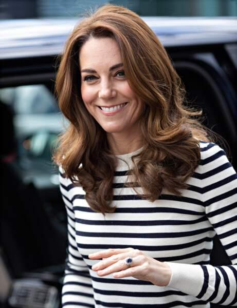 Le dégradé sur les pointes comme Kate Middleton