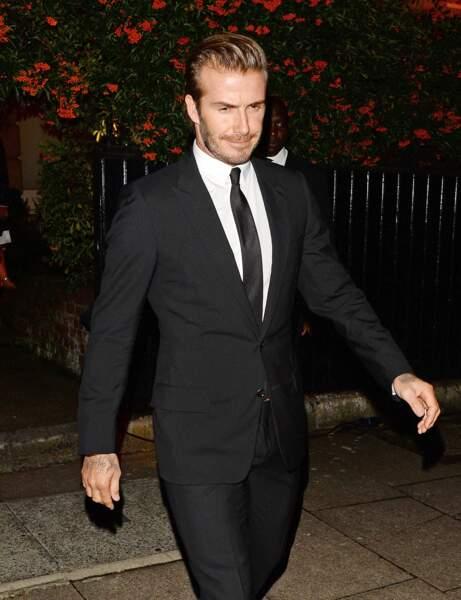 David Beckham pour Victoria Beckham