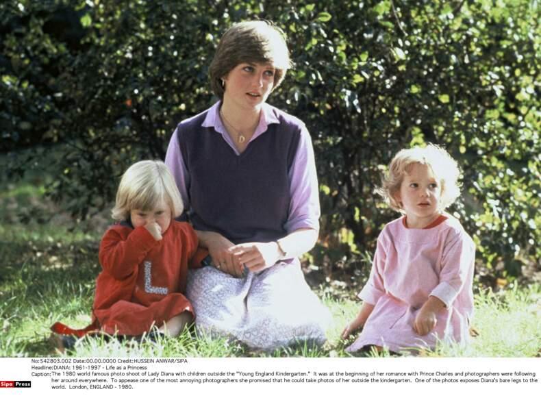 Harry, William et Diana