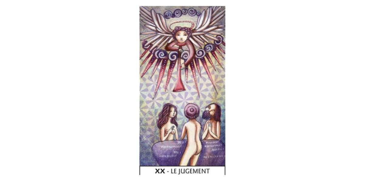 Lame 20 du Tarot des Mages : Le Jugement
