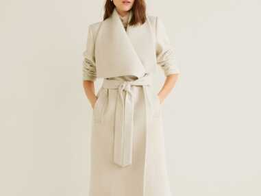 Manteau blanc : 15 pièces coup de coeur pour un hiver chic et élégant