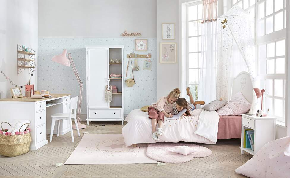 Collection Mila pour chambre de fille