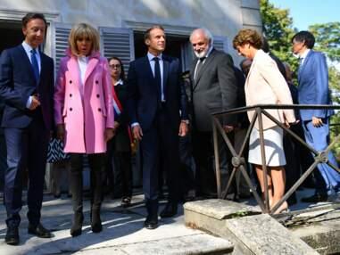 Brigitte Macron, très élégante pour les Journées du Patrimoine