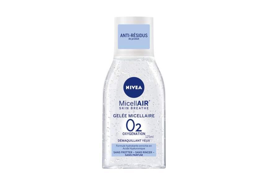 Gelée micellaire 02 oxygénation Nivea