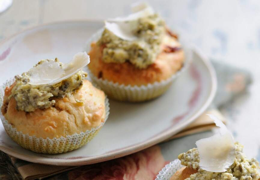 Muffin au parmesan