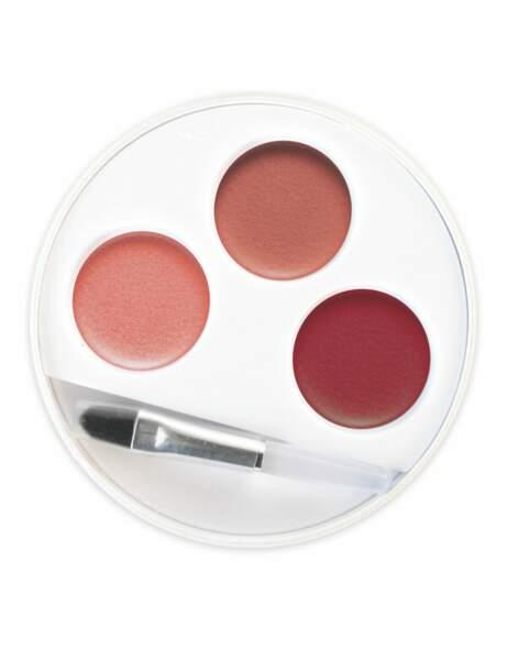 Palette 3 rouges à lèvres n° 31 Swahili, Couleur Caramel : une formule enrichie en jojoba