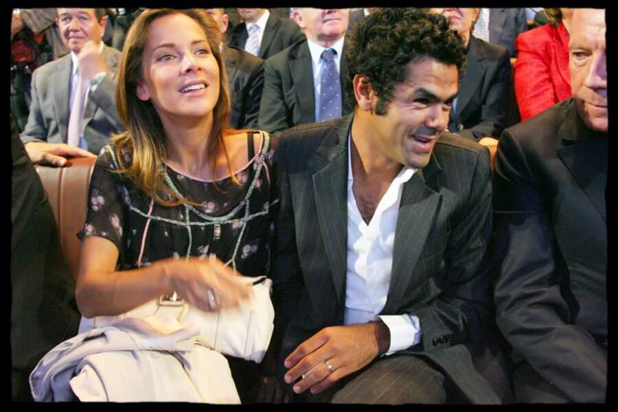 Melissa Theuriau et son mari au lancement de la fondation Chirac