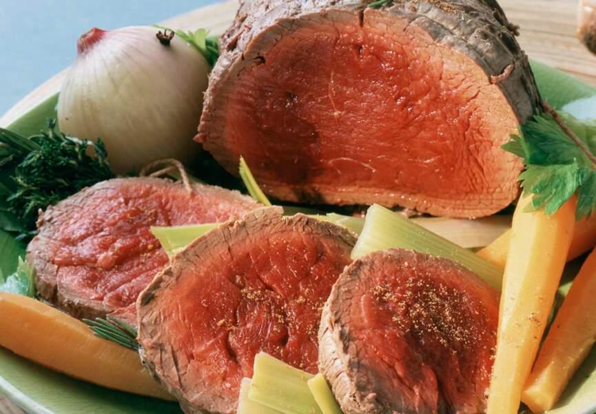 Rôti de bœuf aux petits légumes